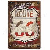 plaque america s mother road