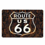 plaque route 66 usa