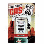 route 66 pompe a essence derniere chance