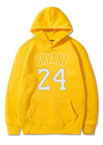sweat americain basketball jaune