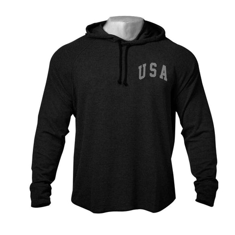 sweat capuche americain fitness
