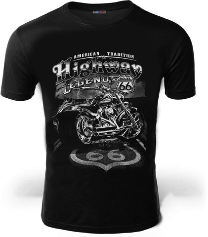 t shirt harley route 66