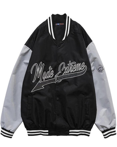 veste varsity americaine authentique