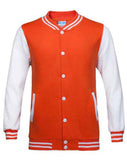 veste universitaire amerique orange