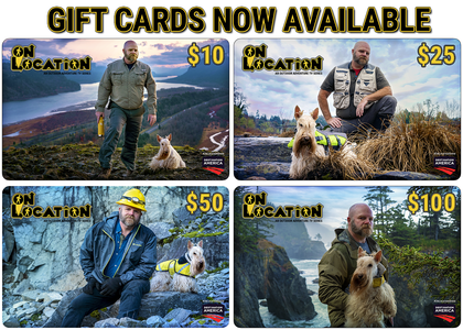 On Location TV Series - The Official Gift Card Collection