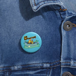 Fishing Button (river blue)
