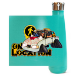 Navigation Driving Challenge 16 oz Metallic Water Bottle (multiple colors)