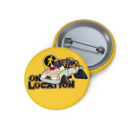 Navigation Driving Challenge Button (safety yellow)