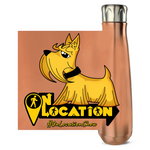 Dogmatix 16 oz Metallic Water Bottle (multiple colors)