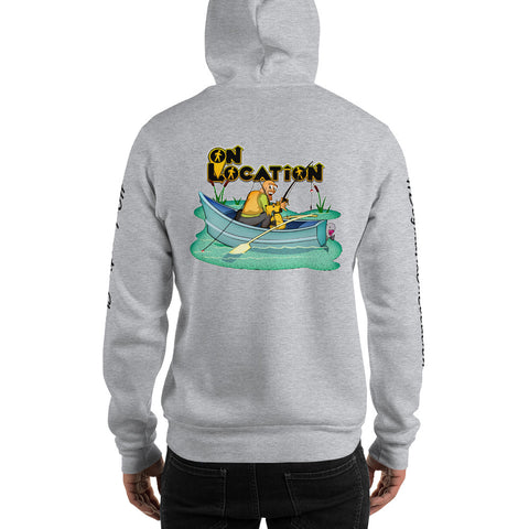 Fishing Unisex Hoodie (light colors)