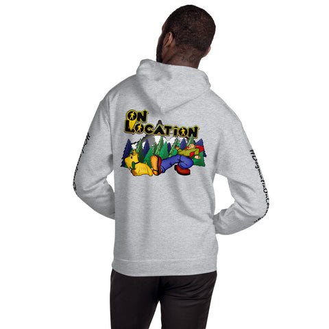 Keep On Hiking Unisex Hoodie (light colors)