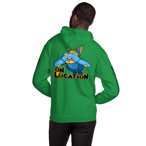 Kite Flying Unisex Hoodie (light colors)