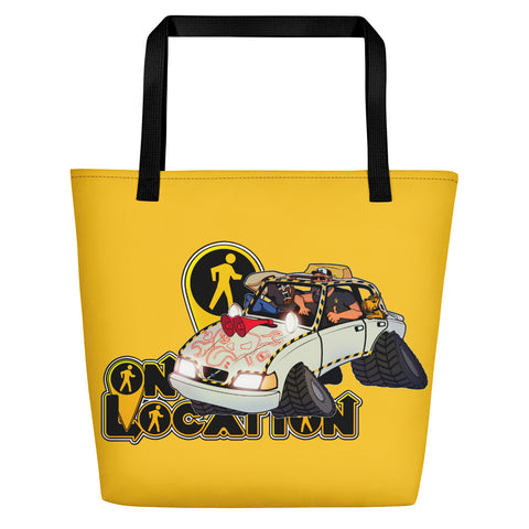 Navigation Driving Challenge Beach Bag (safety yellow)