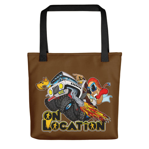 4x4 Rock Crawling Tote (dark brown)