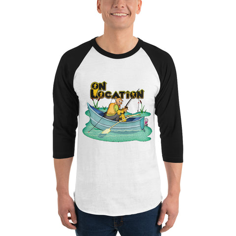 Fishing Unisex Raglan Shirt (multiple colors)
