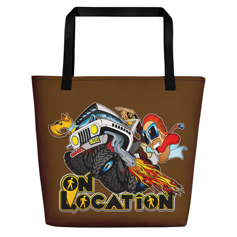 4x4 Rock Crawling Beach Bag (dark brown)