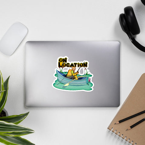 Fishing Stickers (multiple sizes)