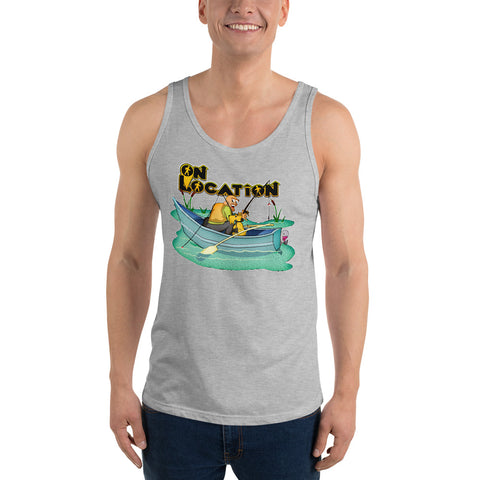 Fishing Unisex Tank Top (multiple colors)