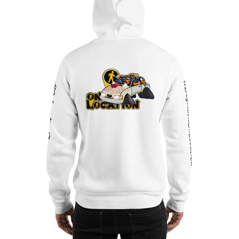 Navigation Driving Challenge Unisex Hoodie (light colors)