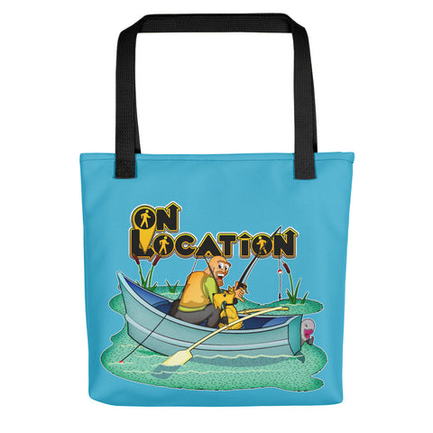 Fishing Tote (river blue)