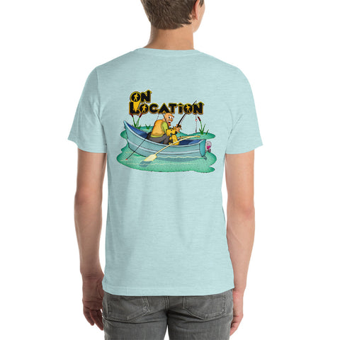 Fishing Unisex Shirt (textured colors)