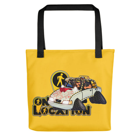 Navigation Driving Challenge Tote (safety yellow)