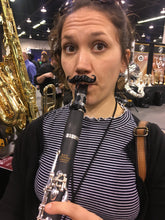 Load image into Gallery viewer, Freddie Clarinet-stache by Brasstache - Clip-on Mustache for Clarinet