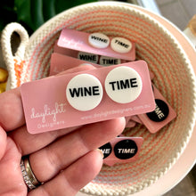 Load image into Gallery viewer, WINE TIME STUDS // CHOOSE YOUR COLOUR