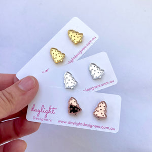 CHRISTMAS TREE STUD SMALL // CHOOSE YOUR COLOUR