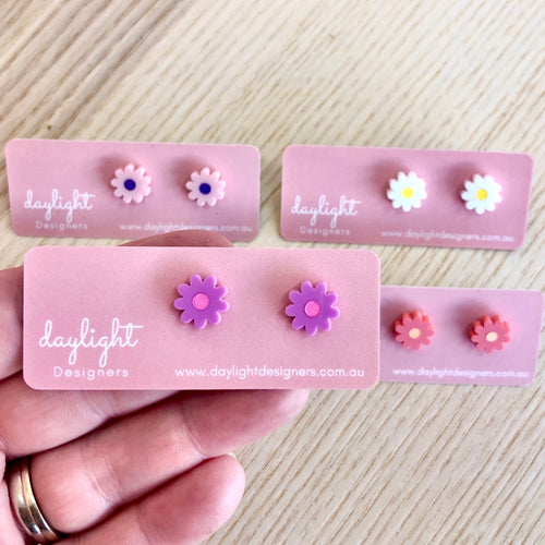 FLOWER POWER STUD MINI // CHOOSE YOUR COLOUR