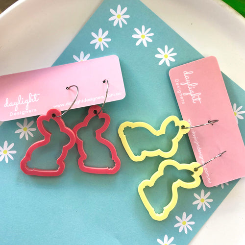Cookie Cutter Easter Bunny Hoop