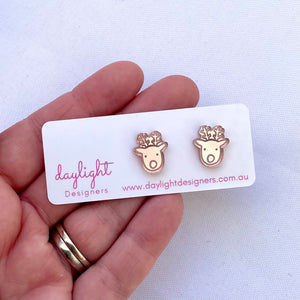 REINDEER STUD SMALL // CHOOSE YOUR COLOUR