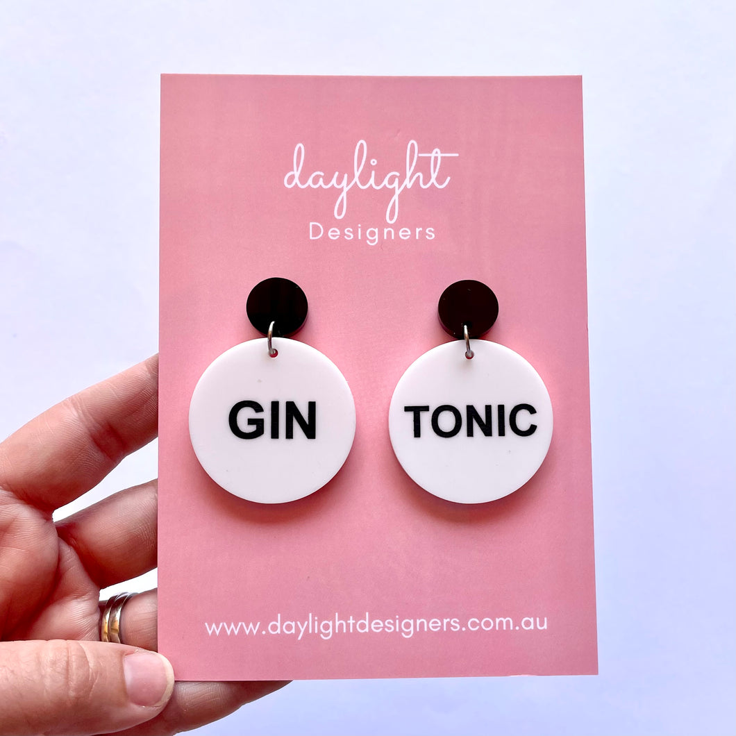 GIN TONIC DROP