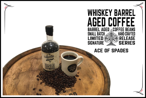 WHISKEY BARREL AGED COFFEE