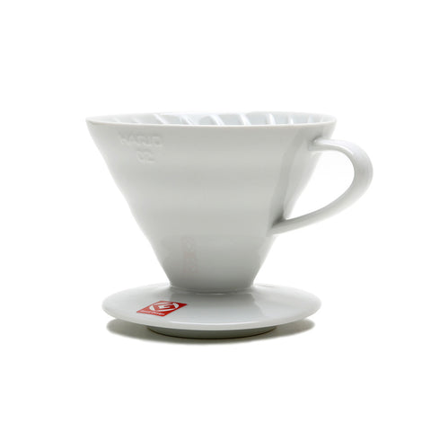 Mario Coffee Dripper V60 White