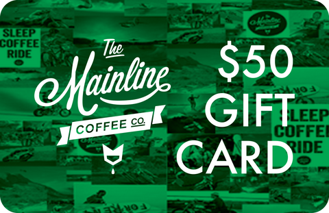 The Mainline Coffee Co. Digital Gift Card - $50