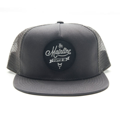Script  Patch Hat Mesh Back - Grey
