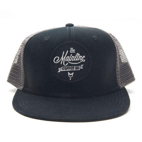 Script  Patch Hat Mesh Back - Black/Grey
