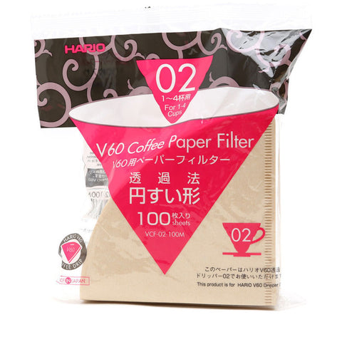 Hario 02 Paper Coffee Filters