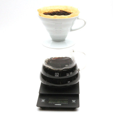 pour over coffee scale