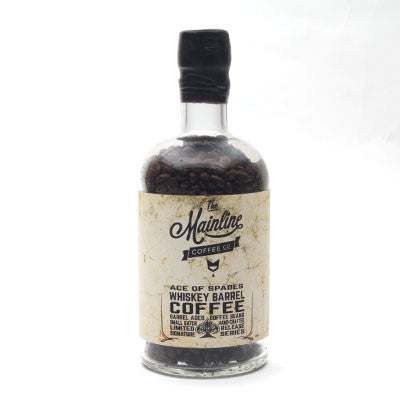 whiskey barrel aged coffee beans