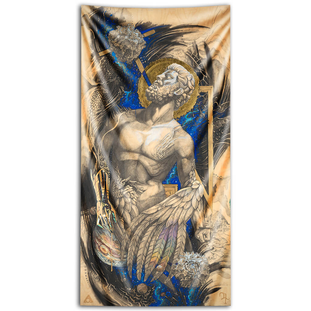 Jupiter | Prometheus | The Blessing of Curse Tapestry
