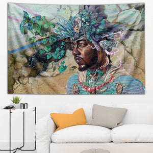Long Live the Negus Tapestry
