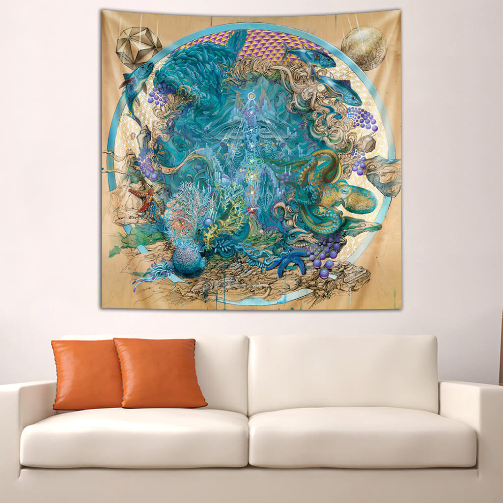 Sympathetic Resonance Tapestry