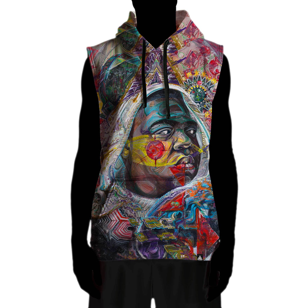FUTURE BIGGIE SLEEVELESS HOODIE