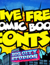 5 Free Comic Book Fonts