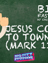BIBLE FAST FACTS with Professor Ebenezer Humdrum: Jesus Comes to Town (Mark 11)
