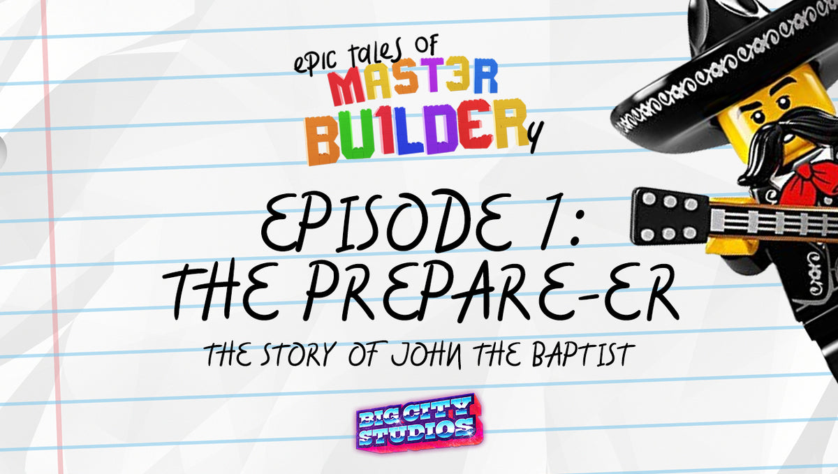 """Epic Tales of Master Builder-y"" Episode 1: The Preparer-er"