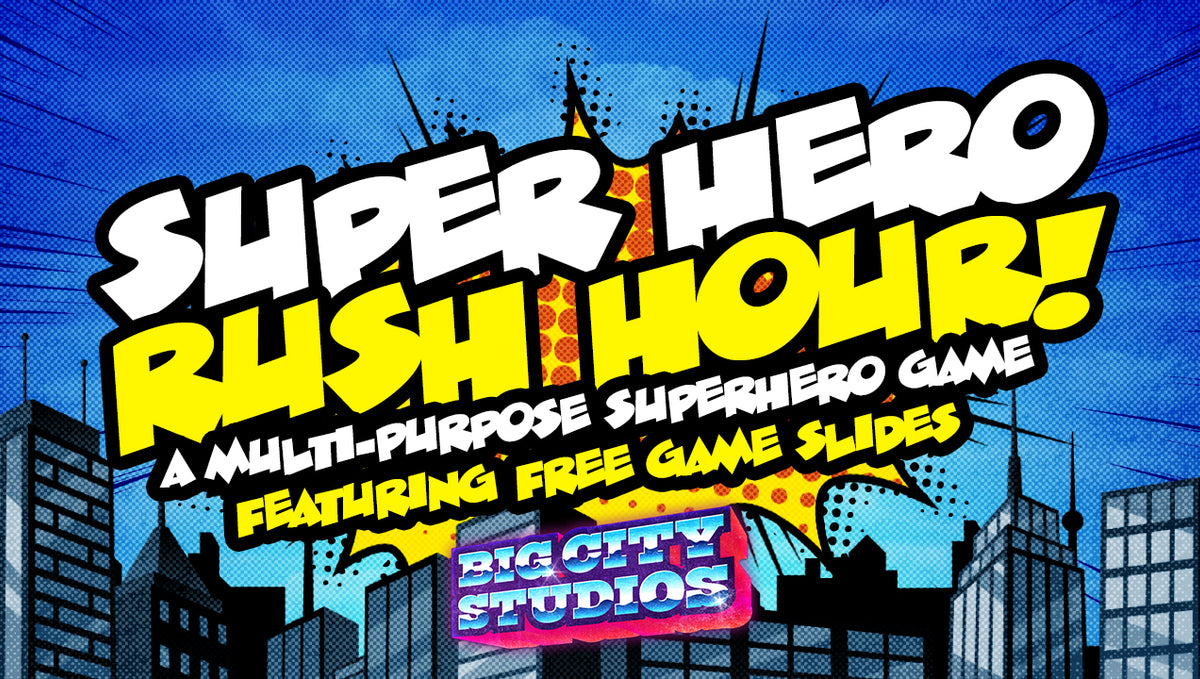 Superhero Rush Hour!: A Multipurpose Superhero Game