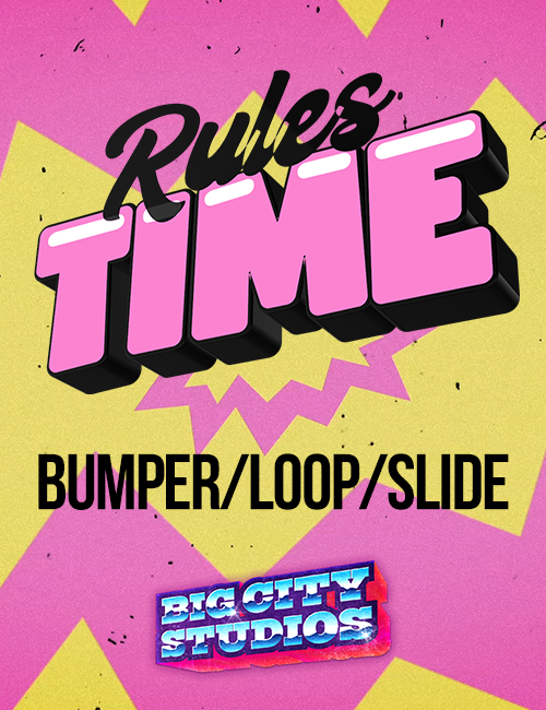 God is Love - Rules Time Bumper/Loop/Slide